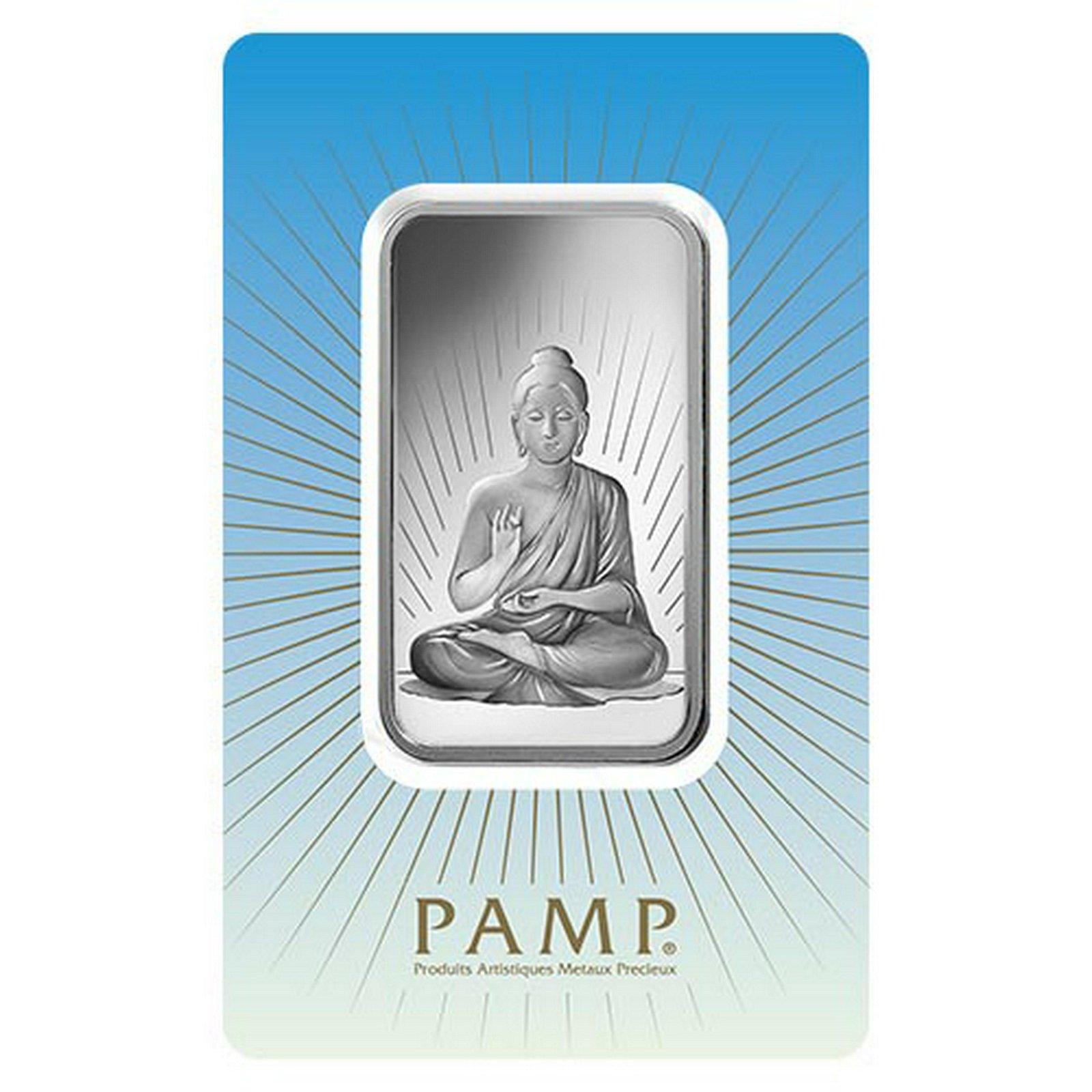 PAMP Suisse Silver Bar 1 oz - Buddha