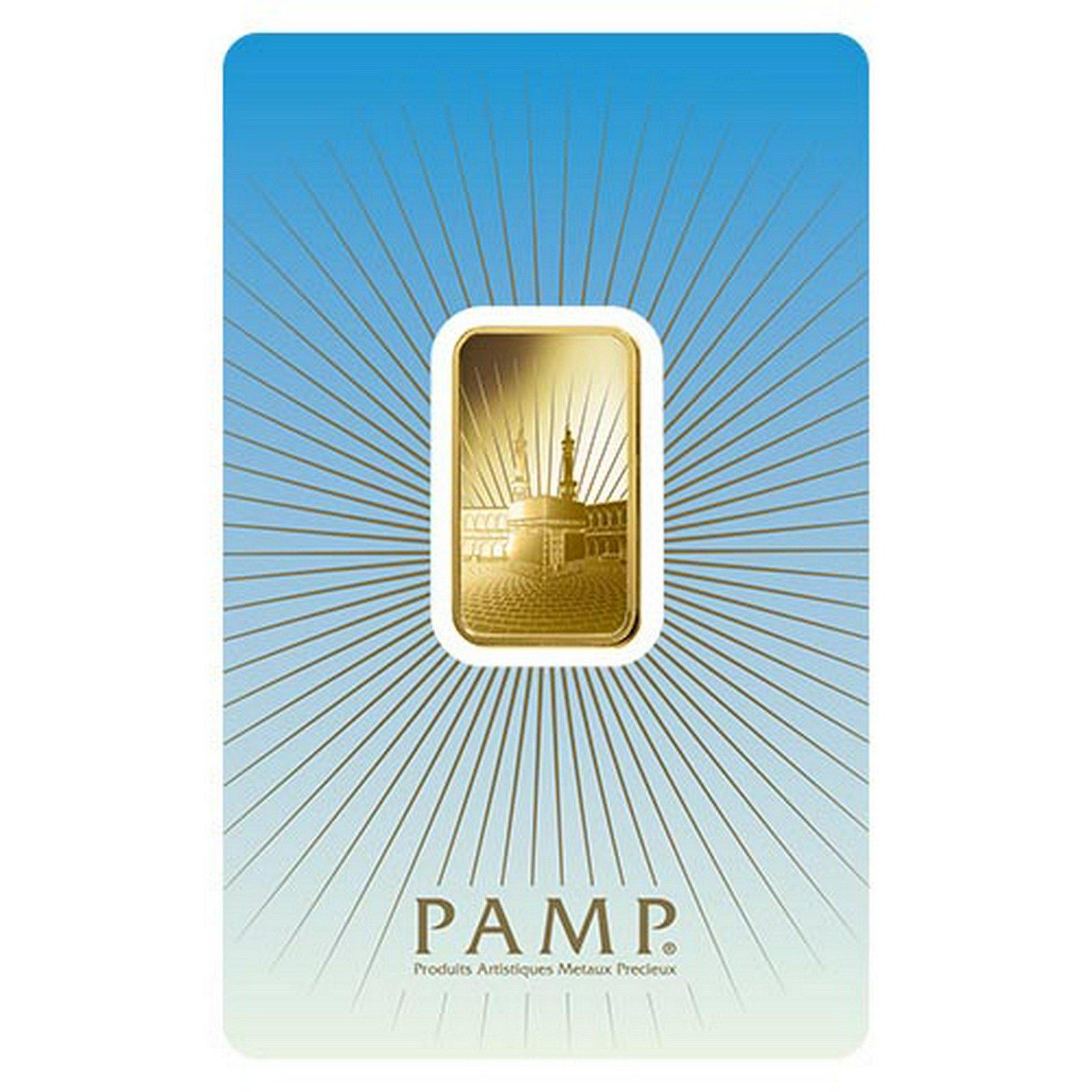 PAMP Suisse 10 Gram Gold Bar - Ka?Bah Mecca