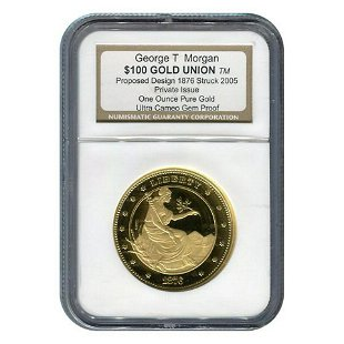 Russia 100 Roubles 1977(m) gold proof NGC - Mar 29, 2019