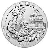 2017 Silver 5oz Ellis Island ATB