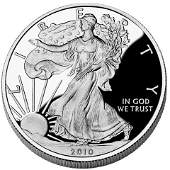 Proof Silver Eagle 2010W
