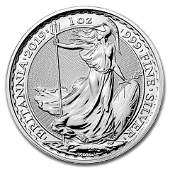 Uncirculated Silver Britannia 1 oz 2019