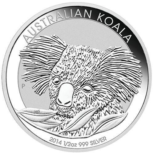 2014 Australian Silver Koala Half Ounce