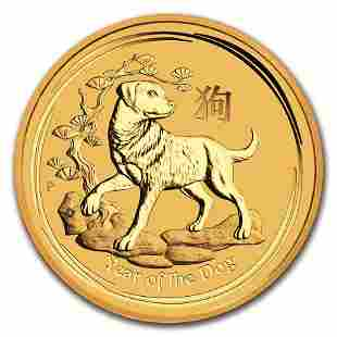 Australian Perth MInt Series II Lunar Gold Half Ounce 2