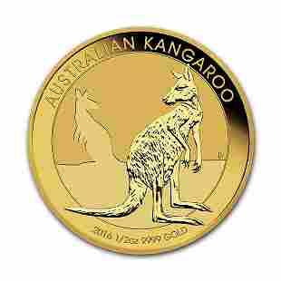 2016 Australia Gold Kangaroo 12 oz
