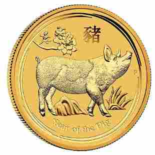 Australian Perth Mint Series II Lunar Gold 120th oz 20