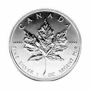 1990 Silver Maple Leaf 1 oz Uncirculated