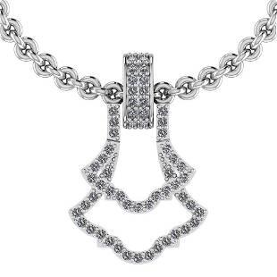 Certified 029 Ctw Diamond VSSI1 Style Prong Set Penda
