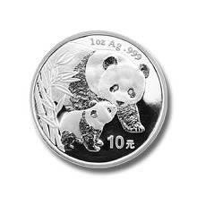 2004 Chinese Silver Panda 1 oz