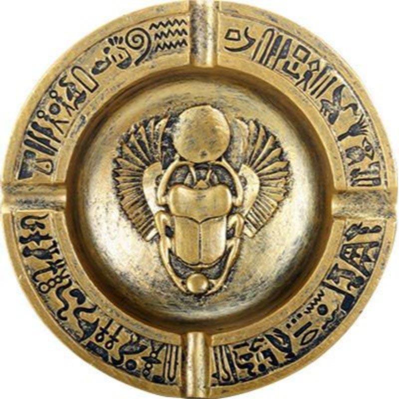 WINGED SCARAB ASHTRAY