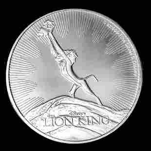2020 Niue 1 oz Silver Collectible Disney Lion King The
