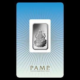 PAMP Suisse Silver Bar 10 Gram - Lakshmi