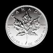 2003 Silver Maple Leaf 1 oz Uncirculated
