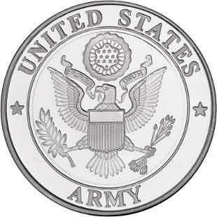 US Army 1oz .999 Silver