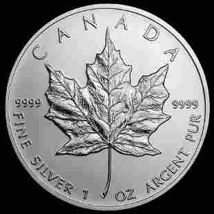 2013 Canada Maple Leaf 1 oz Silver Uncirculated