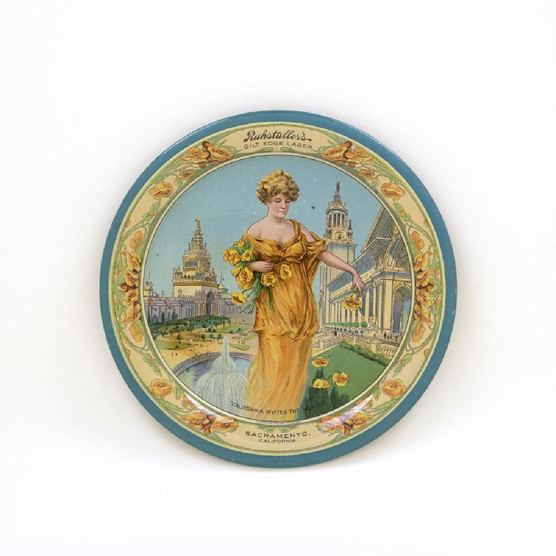 Ruhstallers Gilt Edge Lager Expo Tip Tray