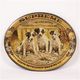 South Bethlehem Supreme Puppy Playing Card Tray