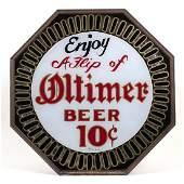 Oltimer Beer Spinner Motion Lighted Sign