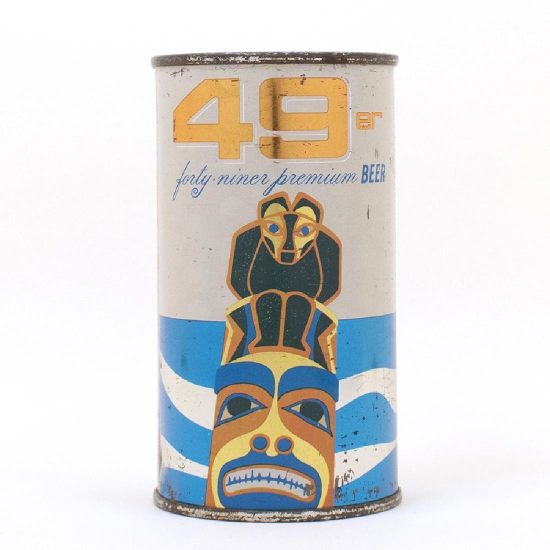 49er Flat Top Beer Can Atlas Brewing