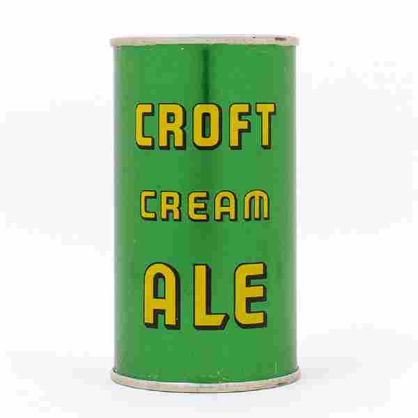 Croft Cream Ale INSTRUCTIONAL Flat Top Can
