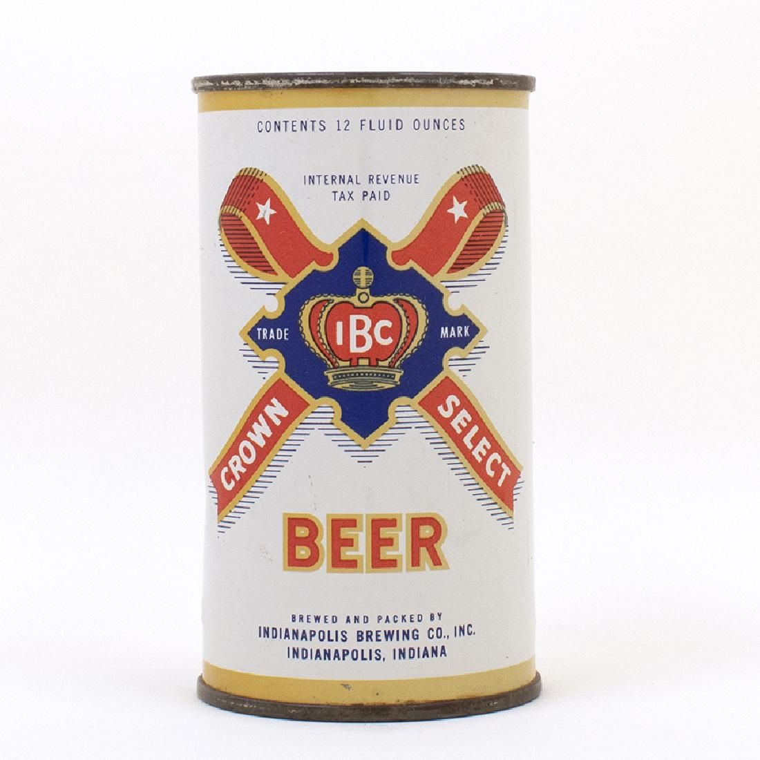 IBC Crown Select Beer Flat Top Can