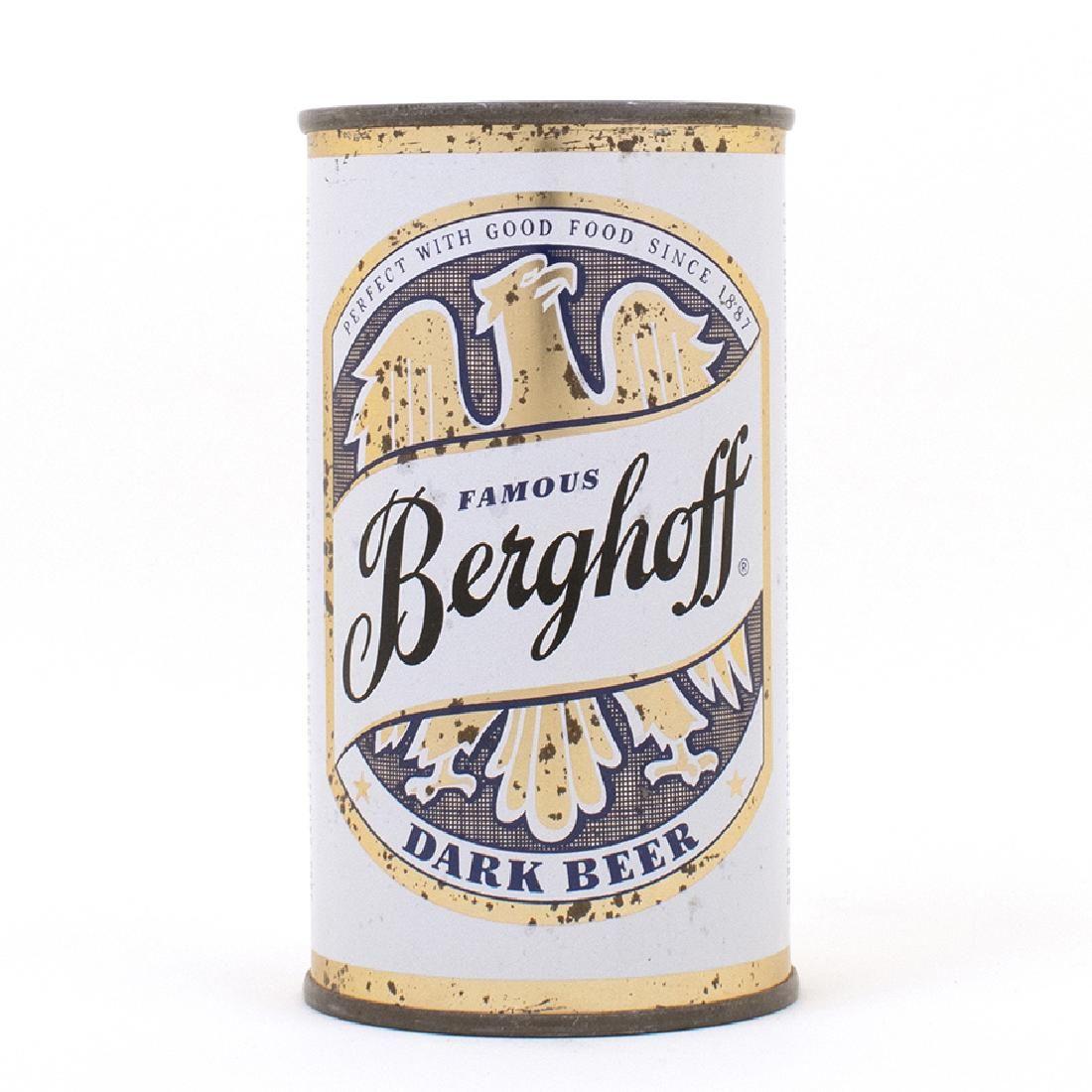 Berghoff Dark Beer Flat Top Can