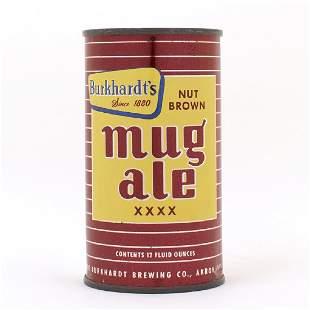 Burkhardts Nut Brown Mug Ale XXXX Flat Top