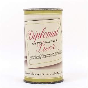 Diplomat Beer Flat Top Can