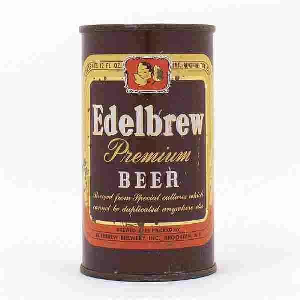Edelbrew Premium Beer Flat Top Can