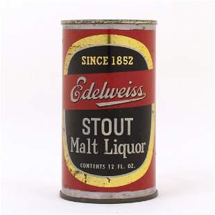 Edelweiss Stout Malt Liquor Flat Top Can