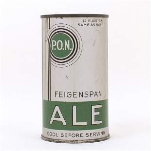 Feigenspan PON Ale Long Opener Can