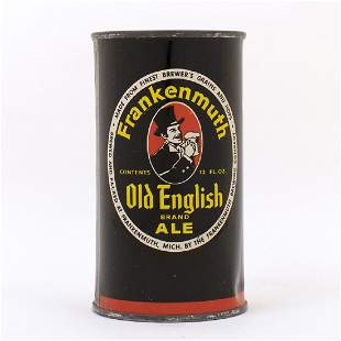 Frankenmuth Old English Ale Flat Top Can 6622