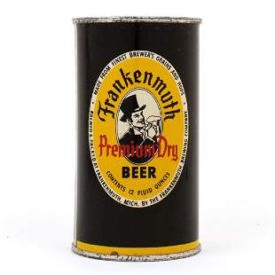 Frankenmuth Premium Dry Beer Flat Top Can 6627