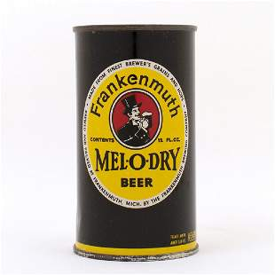 Frankenmuth MelODry Beer Flat Top Can 6630