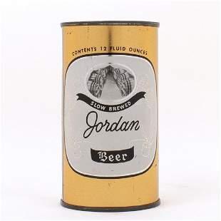 Jordan Beer Flat Top Can