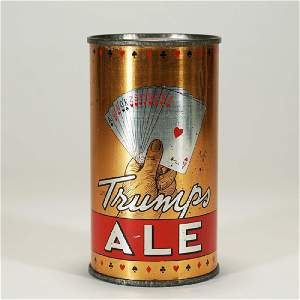 Trumps Ale Playing Cards Instructional Can BOSTON