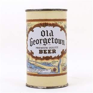 Old Georgetown Beer DARK BROWN Flat Top