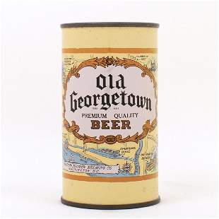 Old Georgetown Beer LIGHT BROWN Flat Top