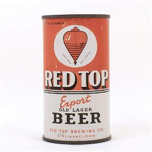 Red Top Export Old Lager Beer Instructional