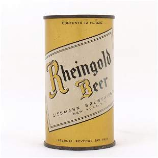 Rheingold Beer Flat Top Can