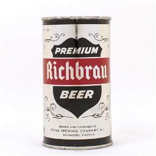 Richbrau Premium METALLIC Silver AMERICAN Can