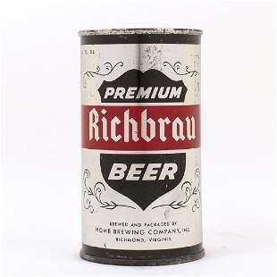 Richbrau Premium Metallic Silver CONTINENTAL Can