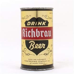 Richbrau DRINK Beer Gold METALLIC Flat Top