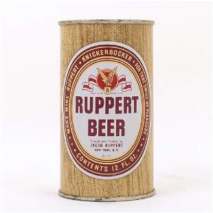 Ruppert Beer Woodgrain Eagle Flat Top Can 12610