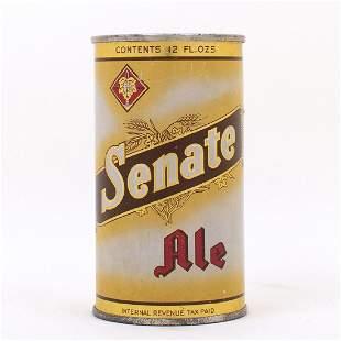 Senate Ale Flat Top Can 13212 YellowOrange