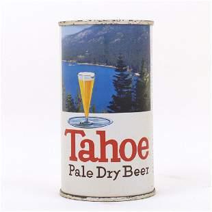Tahoe Pale Dry Beer Flat Top Can 1389