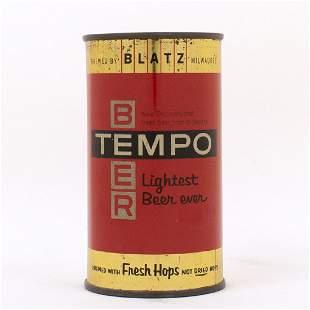 Tempo Beer Blatz Flat Top METALLIC