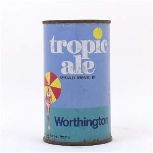 Tropic Ale Worthington Flat Top Beer Can Bikini