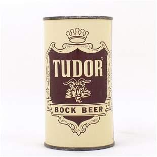 Tudor Bock Beer Flat Top Can HORNELL