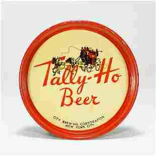 Tally-Ho Beer Tip Tray